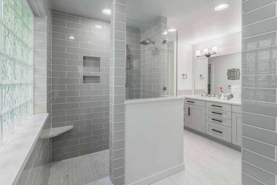 bathroom design by The Showroom Interior Solutions