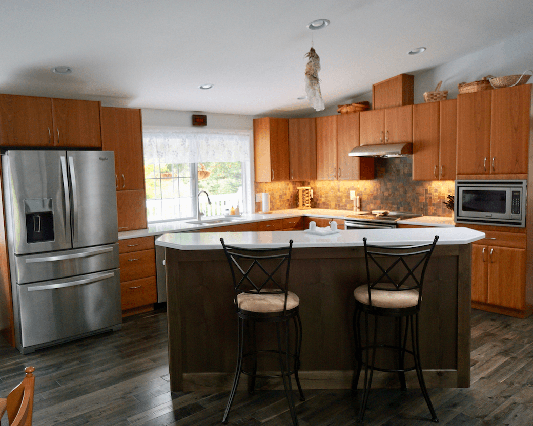 McAnnany Kitchen Cabinet Remodel - The Showroom