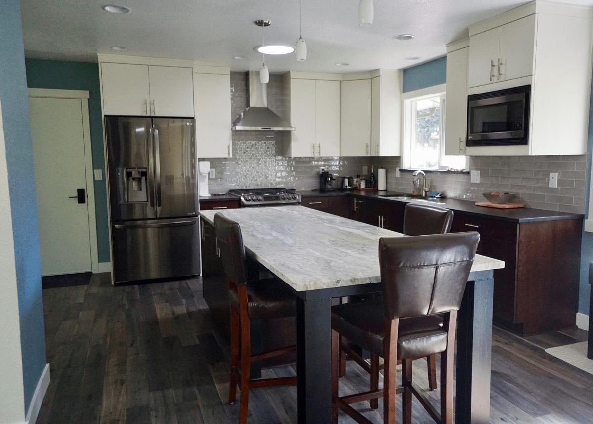 Bowman Kitchen Cabinet Remodel Olympia, WA