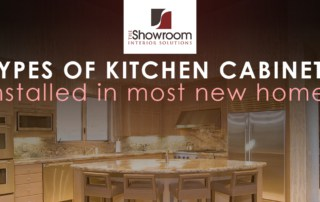 Kitchen Cabinet Options by The Showroom Interior Solutions