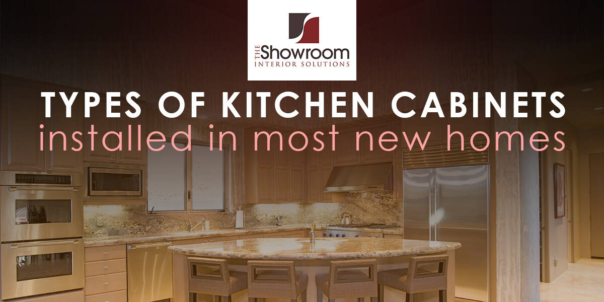 Kitchen Cabinets Understanding Your Options The Showroom